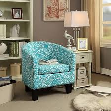 Turquoise Accent Chair Arm Accent Chairs