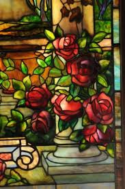Louis Comfort Tiffany Stained Glass 182 Best Tiffany Windows Landscapes And Flowers Images On