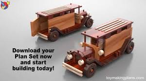 Wooden Toy Plans Free Downloads by Wood Toy Plans Antique Metro Trucks Youtube