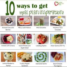 meal planning basics healthy ideas for kids