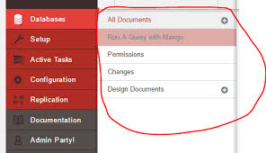 couchdb design document editor introduction to couchdb with net part 2 fauxton ui basics