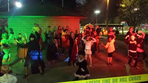 halloween party in the park city of lake saint louis missouri usa