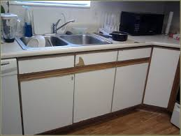 White Thermofoil Kitchen Cabinets by Painting Thermofoil Kitchen Cabinets Gramp Us