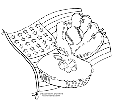 baseball coloring page free download