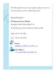 email mandiri company profile pt rajawali kreasi mandiri
