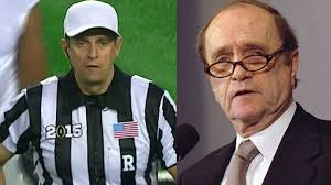 yes the college football title game ref looks just like bob