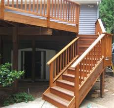 How To Make A Banister For Stairs Best 25 Deck Stair Railing Ideas On Pinterest Deck Deck