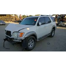 used toyota sequoia parts used 2001 toyota sequoia parts car white with grey interior 4 7