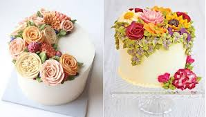 flower cakes buttercream flowers tutorials cake magazine