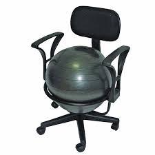 Office Chair Back Pain Amazon Com Cando Metal Ball Chair 22