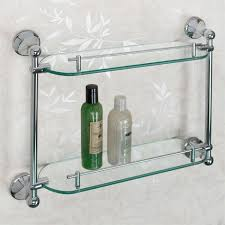 Chrome Shelves For Bathroom by Ballard Tempered Glass Shelf Two Shelves Bathroom