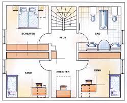 Schl Selfertig Einfamilienhaus Grundriss 3 Kinderzimmer Kreative Ideen über