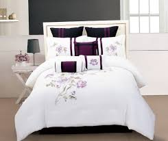 Purple And White Duvet Covers White Duvet Cover Single Home Design Ideas