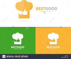 Vector Of Chef Hat And Like Logo Combination Kitchen And Best