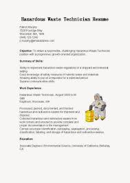 Environmental Science Resume Sample 28 Wastewater Technician Resume Sample Denise Tory S Resume