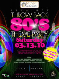 90s Theme Party Decorations 80s Thremed Party Mul Throwback 80s Theme Party Miamiurbanlife