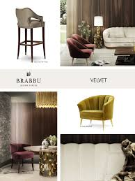 Home Design Trends 2017 Velvet The Trendiest Materials For Your Home Decor In 2017