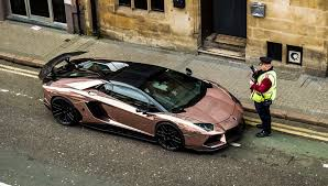 lamborghini aventador gold price driver of 400k gold lamborghini would rather get a ticket
