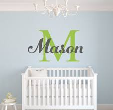 popular nursery wall decor buy cheap nursery wall decor lots from personalized name vinyl wall art decal home decor wall sticker for boy girls room nursery room