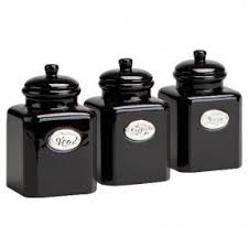 black canisters for kitchen black kitchen canisters foter