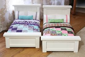 Free Wood Doll Furniture Plans by From Dahlias To Doxies Diy Doll Beds And Tiny Quilts