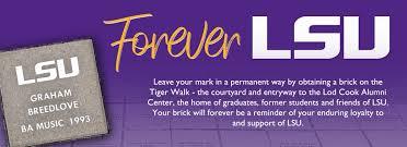 tiger bricks lsu alumni association