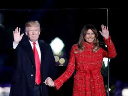 2017 national christmas tree lighting melania trump leads 95th annual national christmas tree lighting