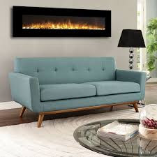 Ventless Wall Mount Gas Fireplace Regal Flame Erie 72 Inch Black Ventless Heater Electric Wall