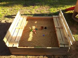 Backyard Sandbox Ideas Sandbox With Cover