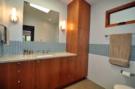 mid century modern master suite midcentury bathroom seattle