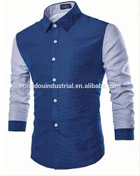 china wholesale clothing custom design pattern men shirt latest