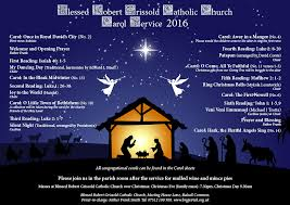 blessed robert grissold roman catholic church carol services