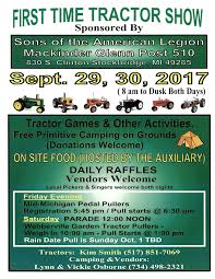 legion tractor show u2013 stockbridge community news