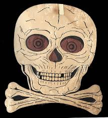 Halloween Skull Decorations 89 Best Vintage Halloween Die Cut Decorations Images On Pinterest