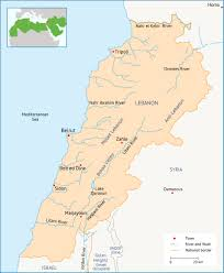 Mediterranean Climate Map Introduction To Water In Lebanon Fanack Water
