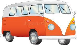 retro camper van stock illustration image 46462141