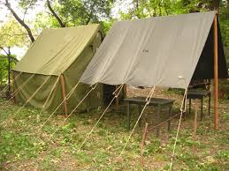 armbruster displays wwii tents at rockford wwii days armbruster