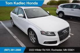 mn audi used audi a4 for sale in rochester mn edmunds