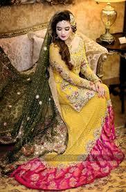 2017 best yellow mehndi dresses for pakistani brides womenitems com