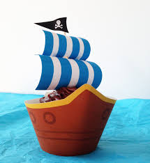 pirate ship party cupcakes with free printables growing up bilingual