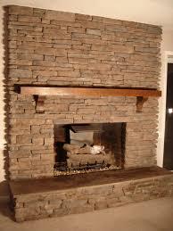 river rock stone fireplace design ideas diy loversiq
