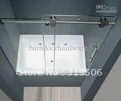 Cheap Shower Door Cheap Frameless Sliding Glass Shower Door Set 304