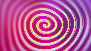 funny colors spirelli funny rotating spiral video background loop a cartoon