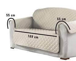 protege canape protège fauteuil matelassé 279x179 cm microfibre imprimée kiria
