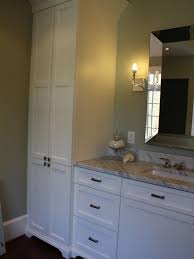 Tall Cabinet For Bathroom by Tall Linen Cabinet Houzz