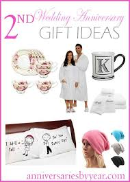 2nd wedding anniversary gifts for second anniversary 2nd wedding anniversary gift ideas