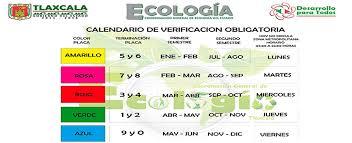 pago de tenencia 2014 df verificación vehicular calendario costos y requisitos