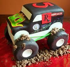 134 best cakes trucks images on pinterest monster trucks