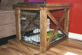 dog kennel side table diy dog kennel table end table dog crate awesome dog kennel end