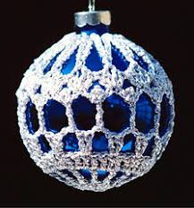 ravelry crocheted ornament covers 2 patterns